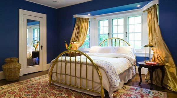 Best 15 Gorgeous Blue And Gold Bedroom Designs Fit For Royalty Home Design Lover With Pictures