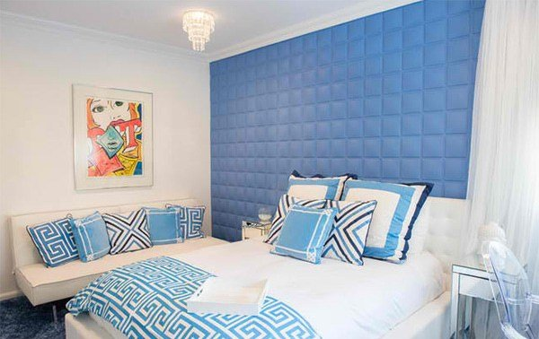Best 18 Ideas For Blue Contemporary Bedrooms Home Design Lover With Pictures