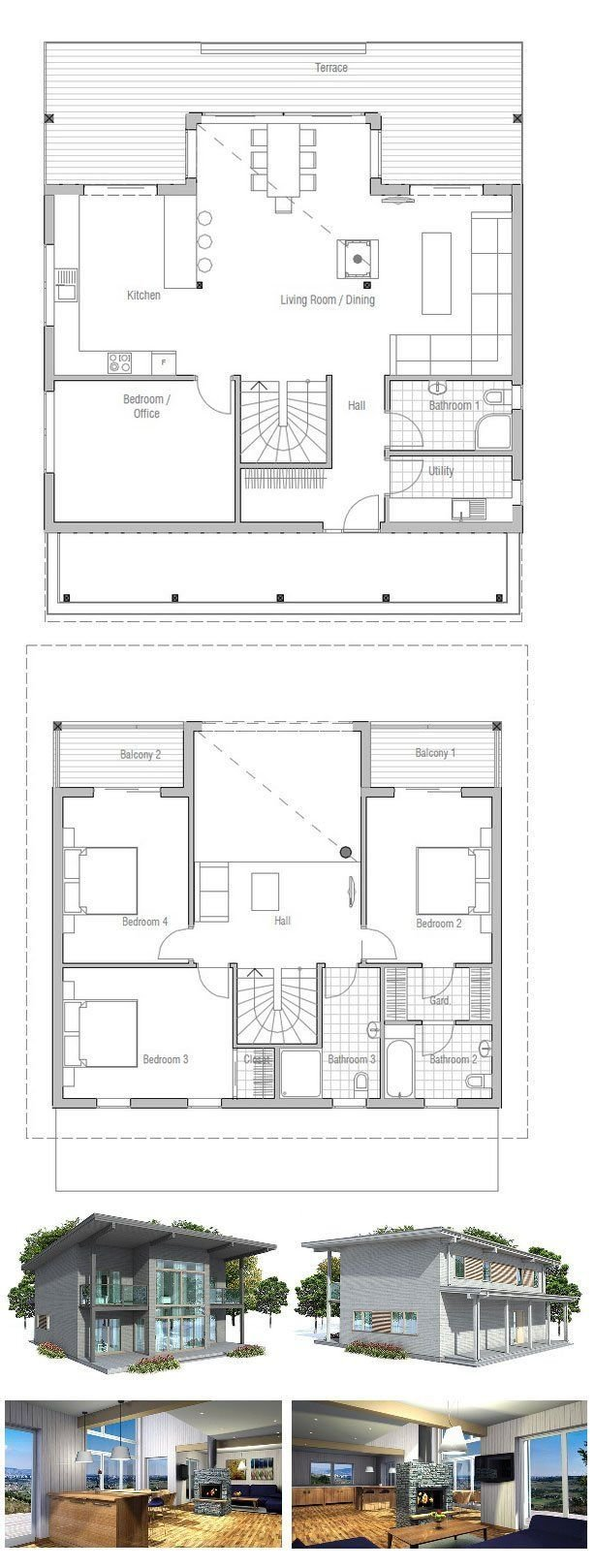 Best Small 3 Bedroom House Floor Plans Cottage House Plans With Pictures