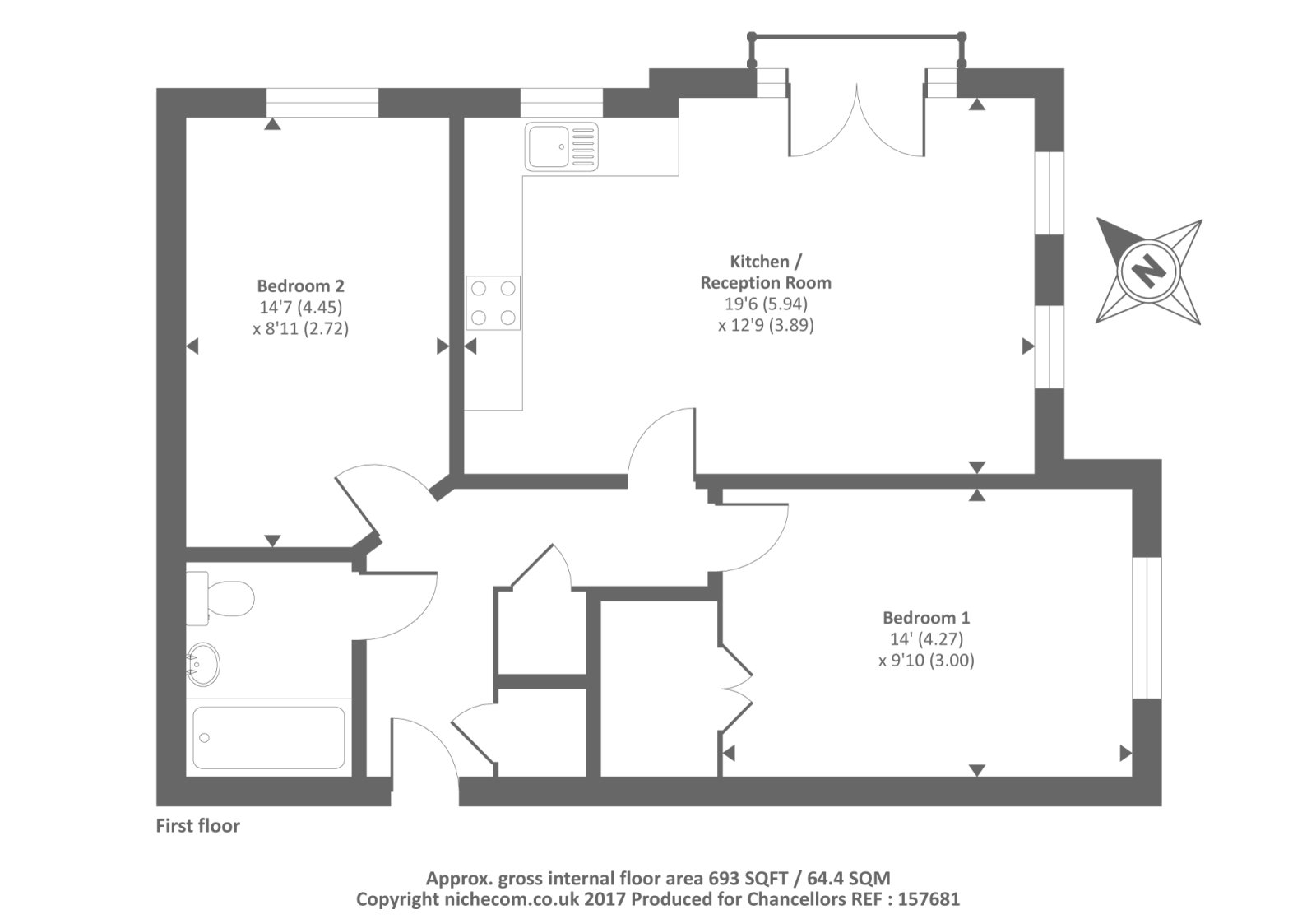 Best Slough Berkshire Sl3 2 Bedroom Flat For Sale 42690027 With Pictures