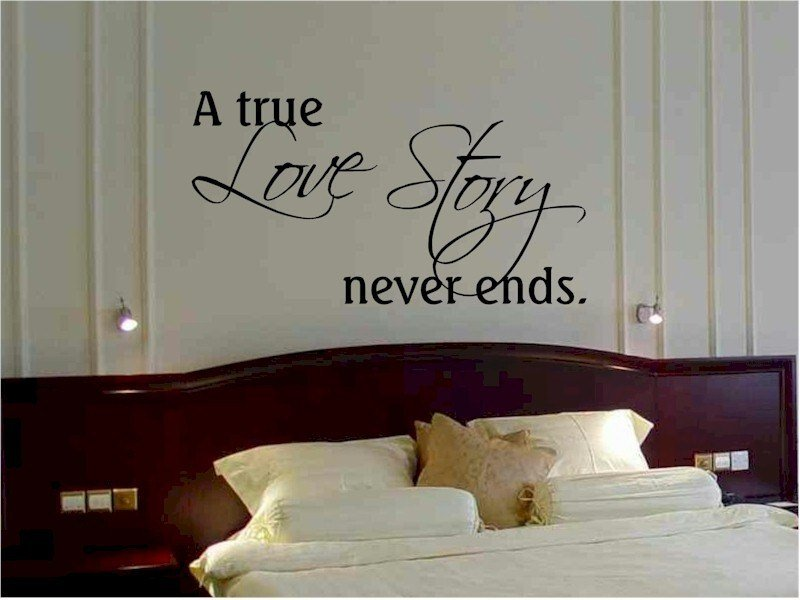 Best Art Wall Decor Make Happy With Bedroom Wall Quotes For With Pictures
