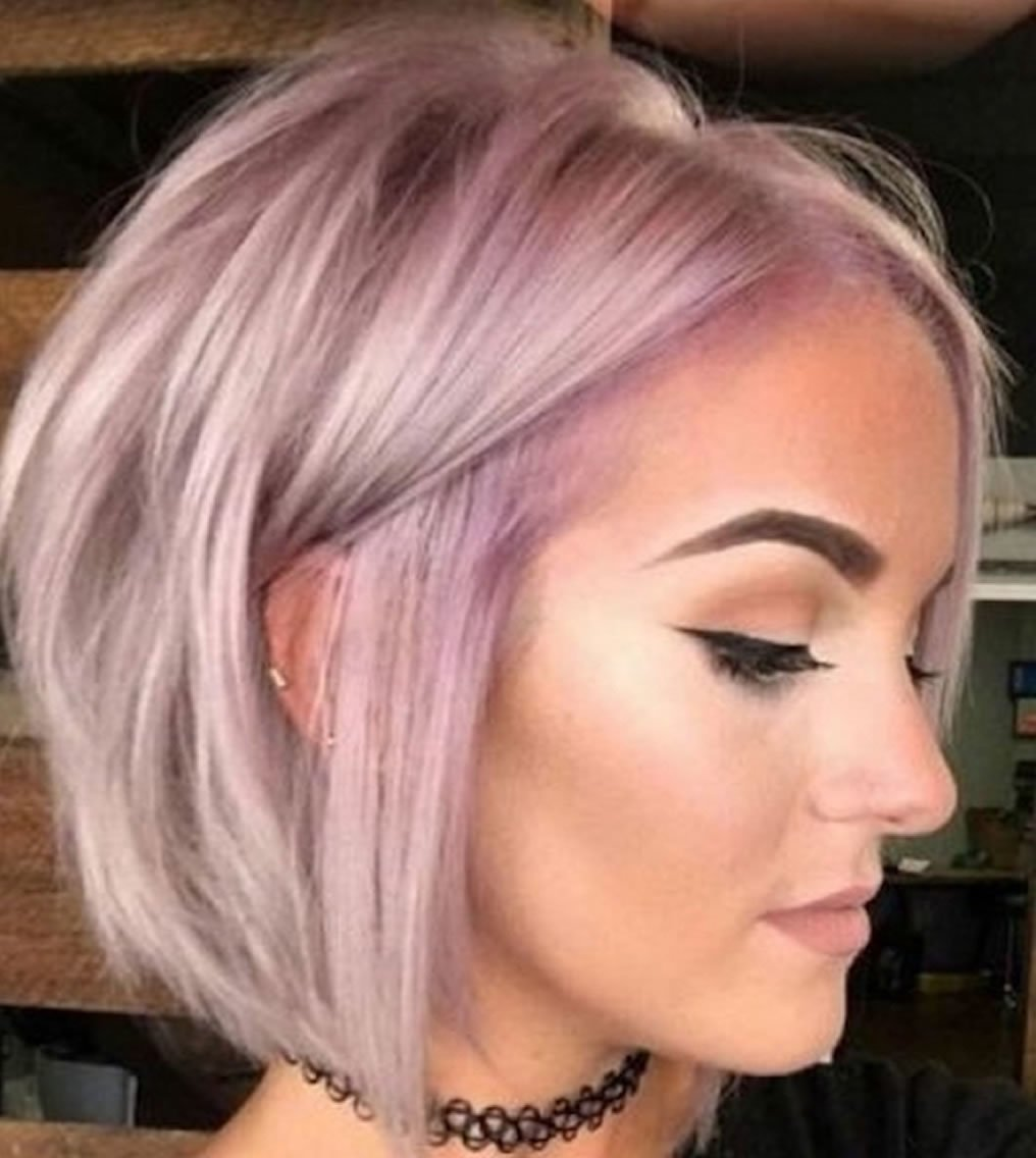 Free Short Hairstyles 2019 And Haircuts For Fine Hair Wallpaper