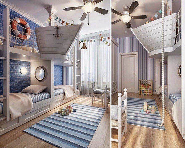 Best 15 Outstanding Ideas For Unique Kids Rooms With Pictures