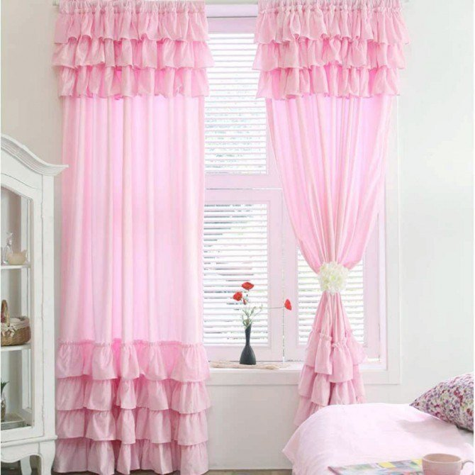 Best White Ruffle Curtain With Pictures