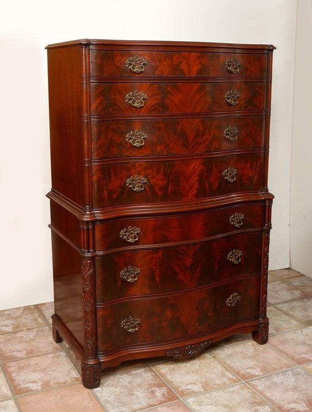 Best Chinese Chippendale Style Mahogany Bedroom Set With Pictures