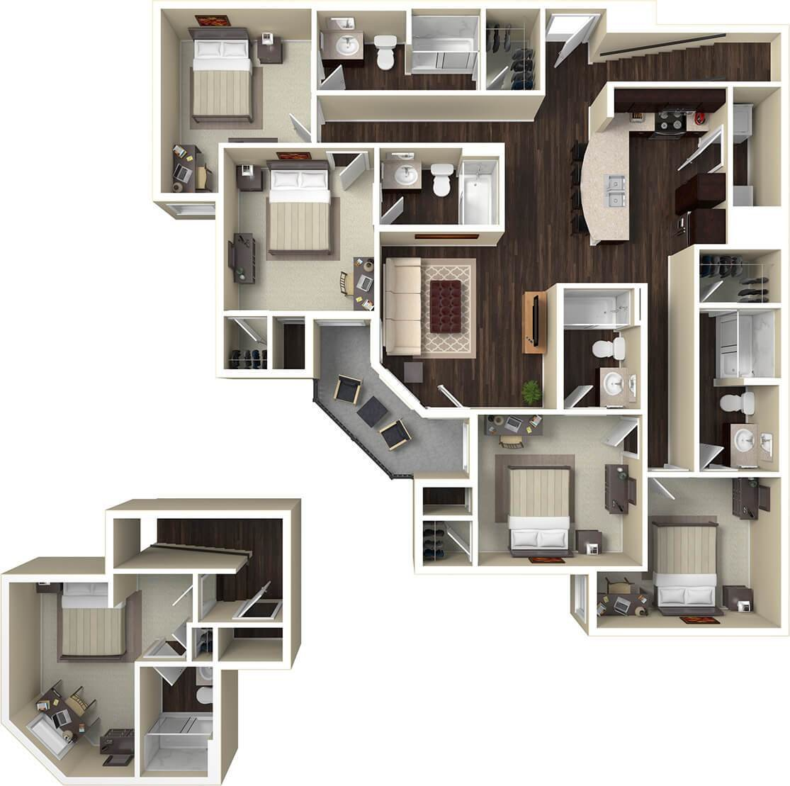 Best Floorplans The Standard St Louis Cwe Living Spaces With Pictures