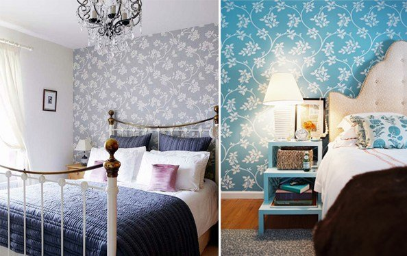 Best Wallpaper For The Bedroom Behind The Bed The Inspired Room With Pictures
