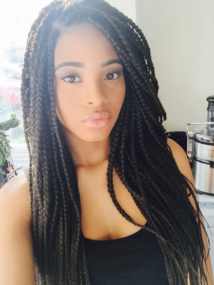 Free 75 Super Hot Black Braided Hairstyles To Wear Wallpaper