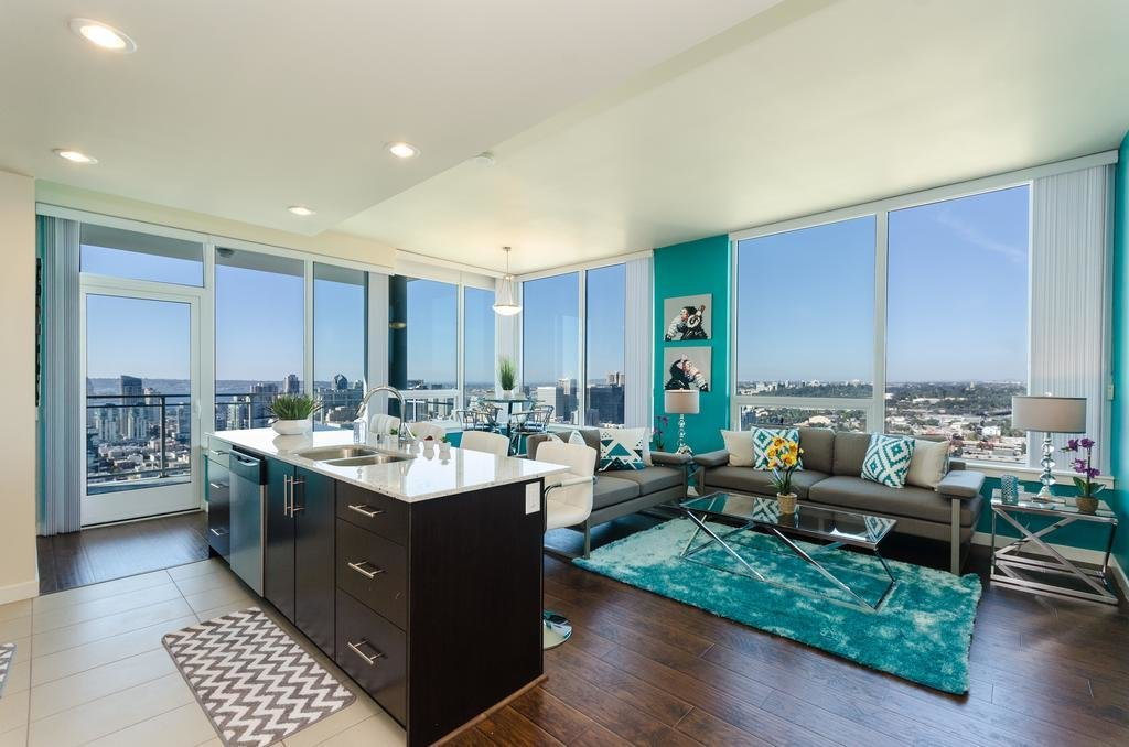 Best Apartment Downtown San Diego Modern 3 Bedroom Ca Booking Com With Pictures