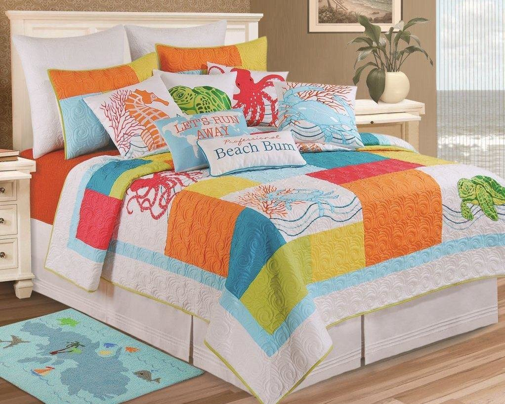 Best Breezy Atmosphere In Bedroom With 3 Coastal Bedding With Pictures