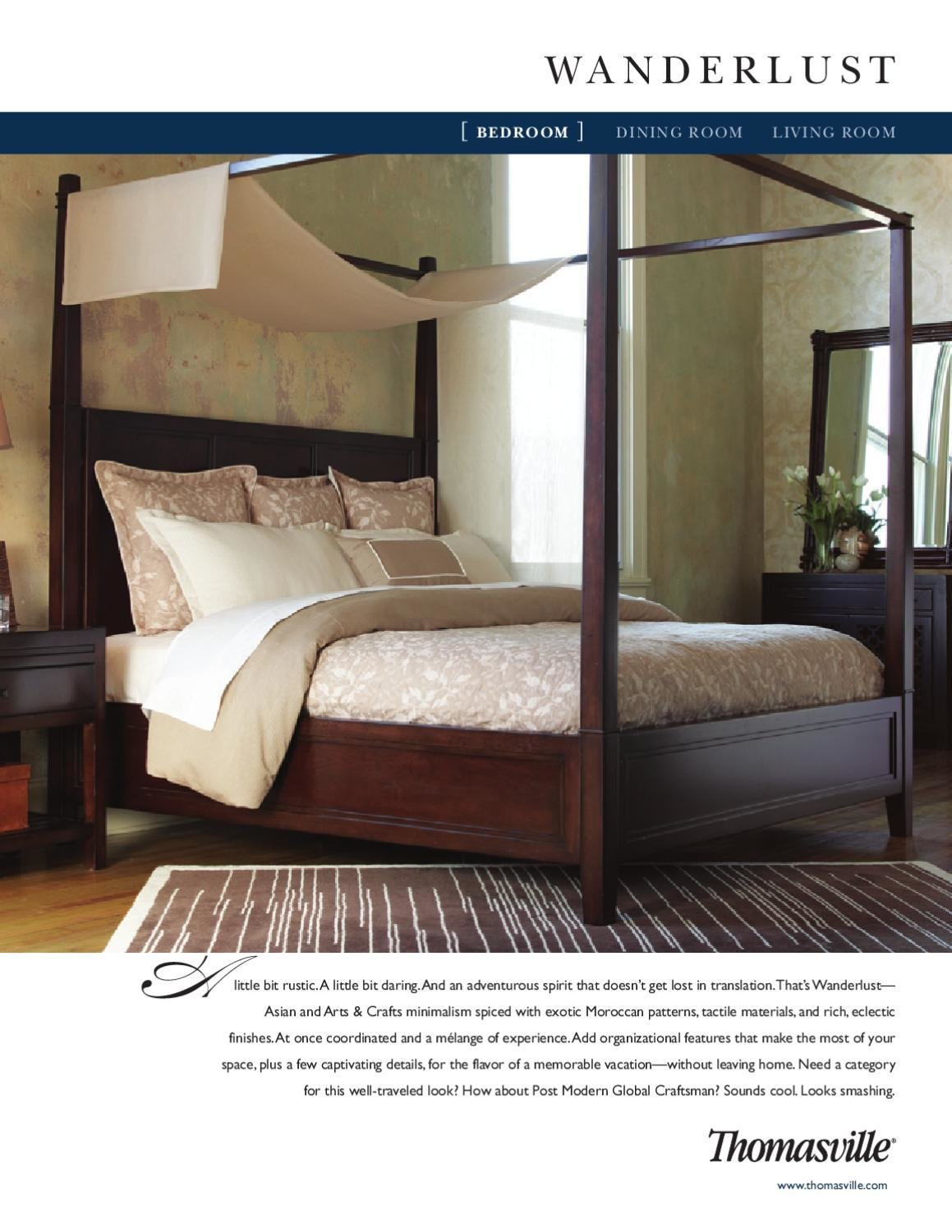 Best Thomasville Wanderlust Bedroom By Cadieux Company Issuu With Pictures