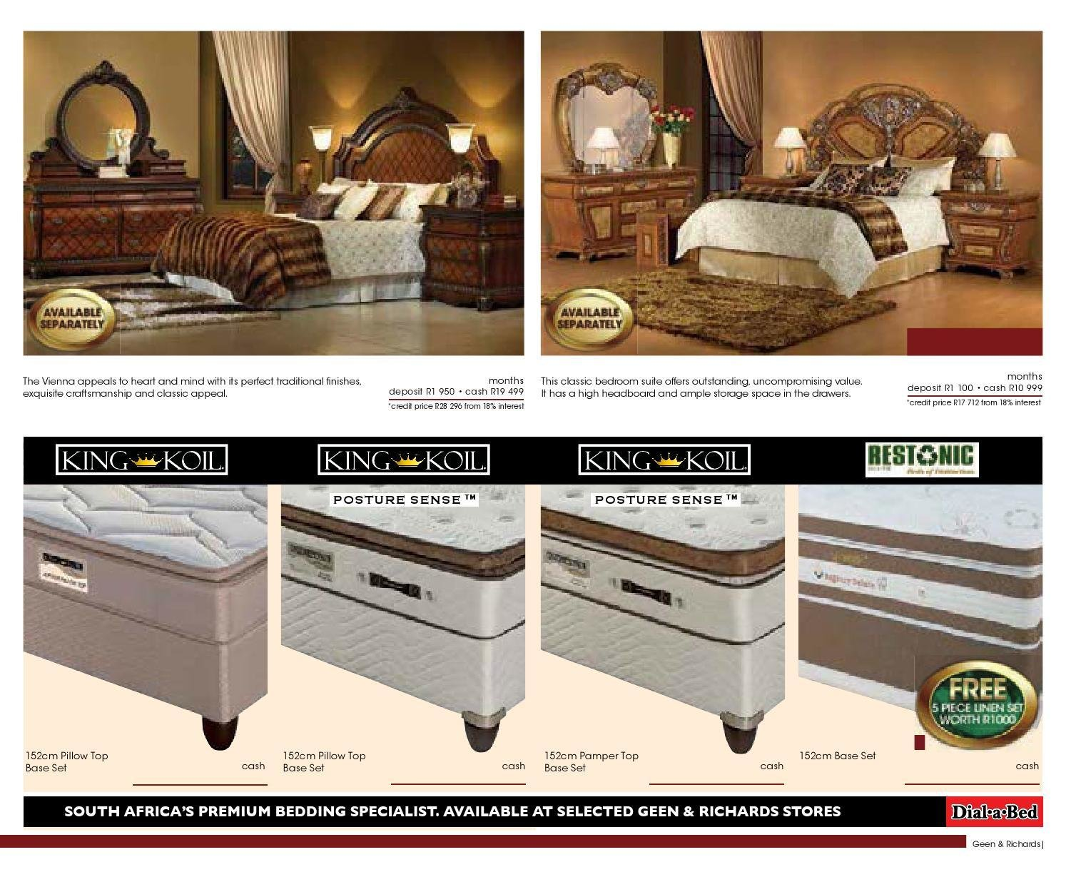 Best Geen And Richards Bedroom Suites Catalogue Classycloud Co With Pictures