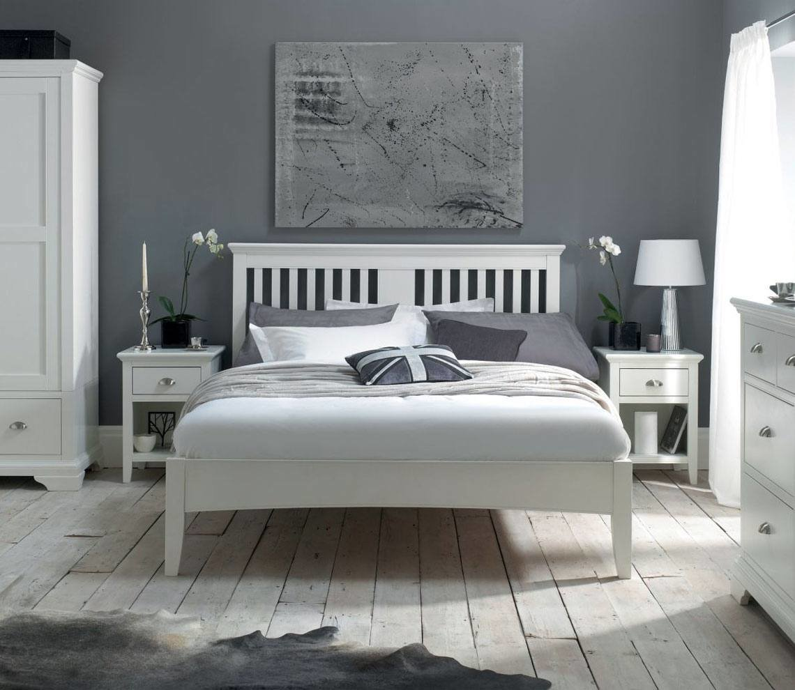 Best Bentley Designs Hampstead Bedroom Funiture White At With Pictures