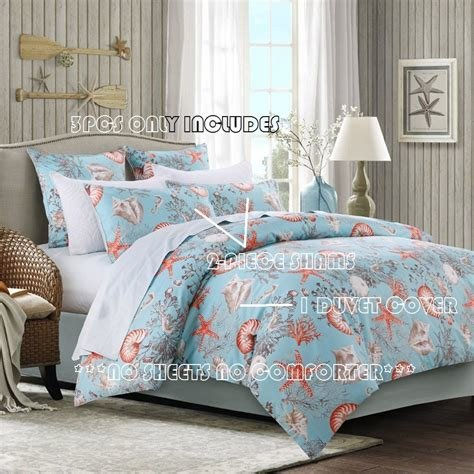 Best Brandream Luxury Nautical Bedding Egyptian Cotton Beach With Pictures
