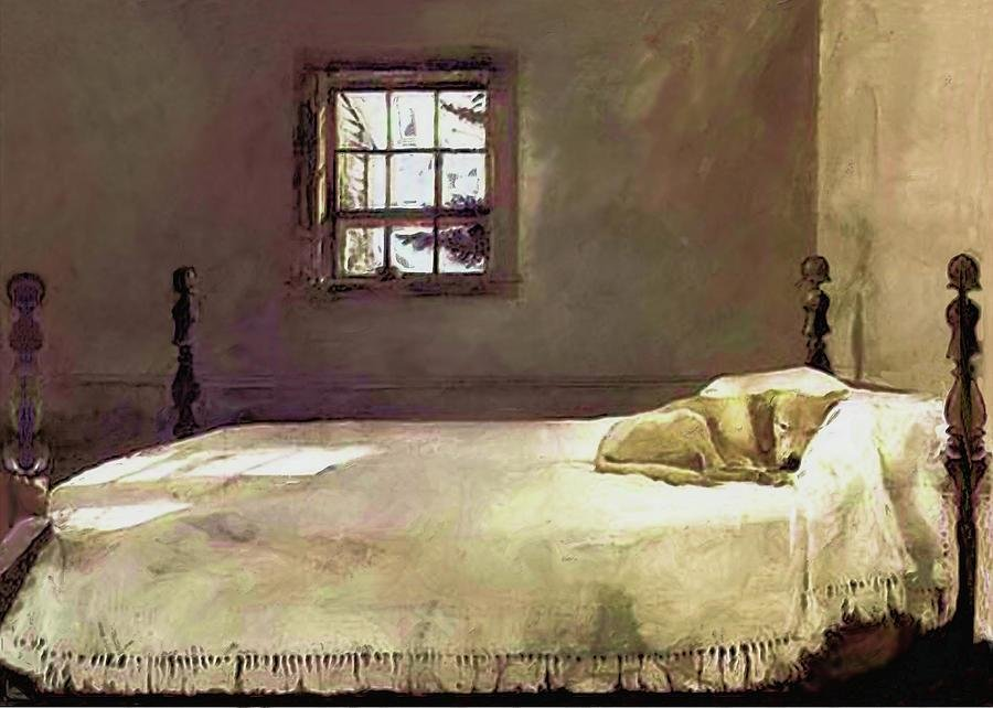 Best Painting Of The Print Master Bedroom Painting By Troy Caperton With Pictures
