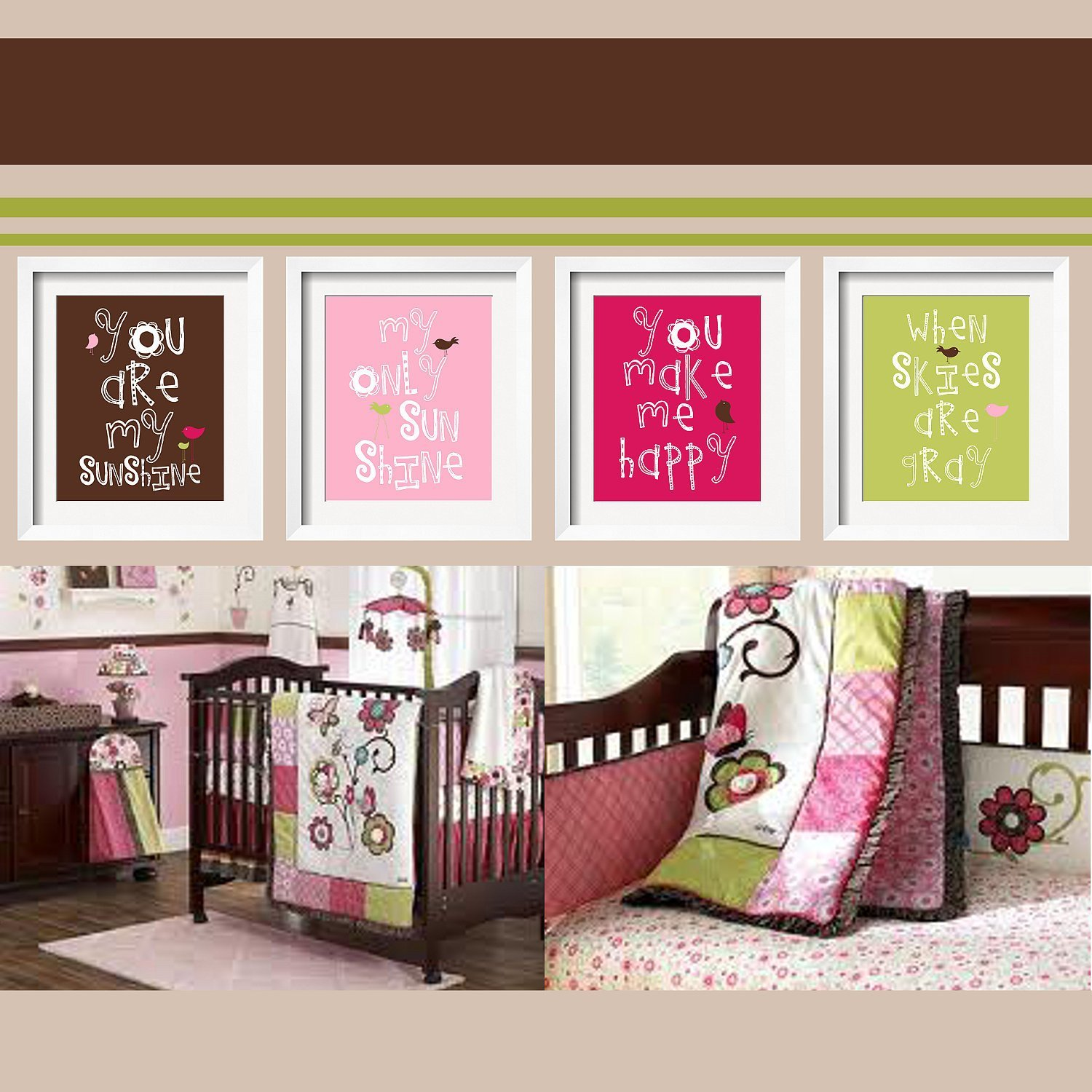 Best You Are My Sunshine 4 Pc Set For Girls Bedroom 5X7 By With Pictures