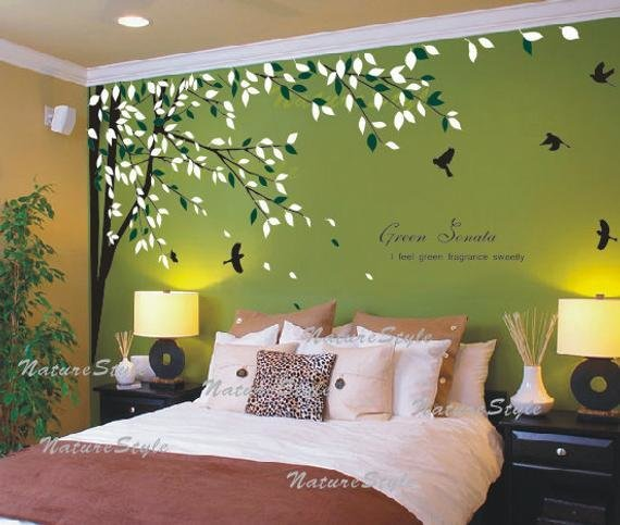 Best Free Shipping Bedroom Wall Decal Vinyl Wall Decals Birds With Pictures