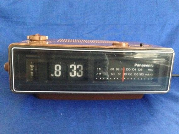 Best 1970S Panasonic Rc 6030 Flip Tile Wood Grain Am Fm Electric With Pictures