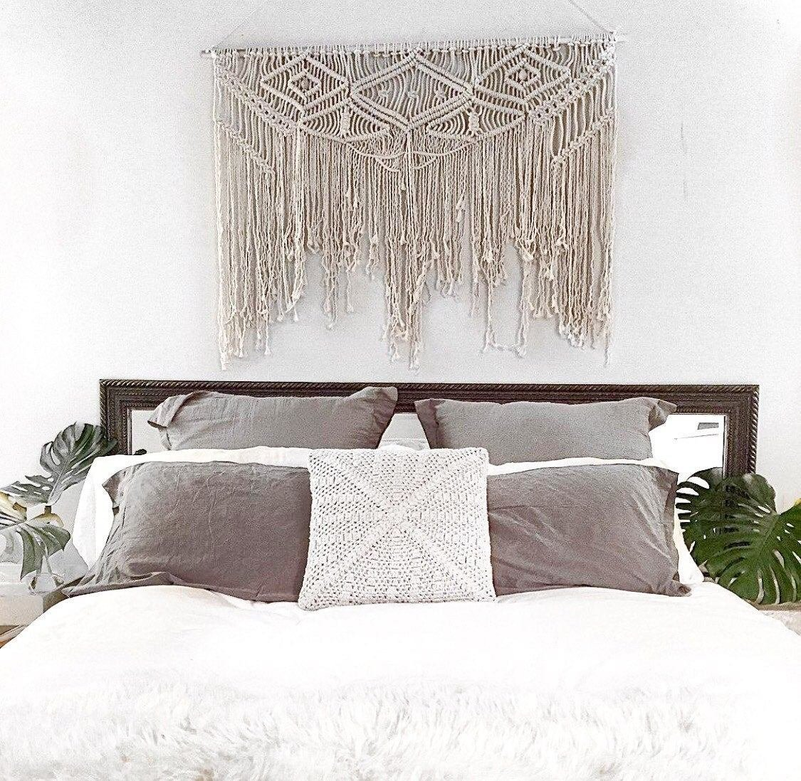 Best Large Macramé Wall Hanging Tapestry Weaving With Pictures