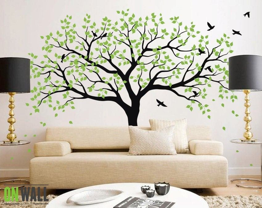 Best Large Tree Wall Decals Trees Decal Nursery Tree Wall Decals With Pictures