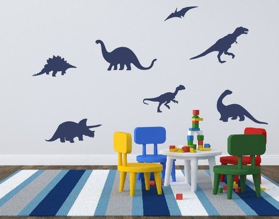Best Dinosaur Wall Decals Boy Bedroom Decor Dinosaur Wall With Pictures