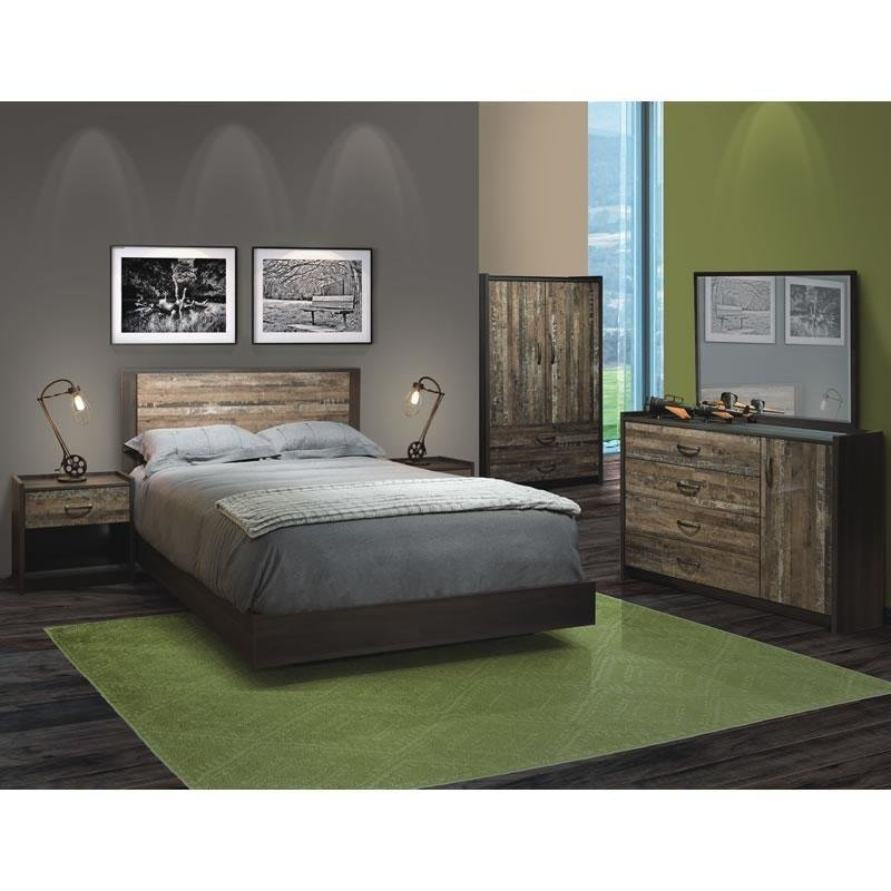 Best Bedroom Sets 19737 5 Pc Queen Bedroom Set At Brandsource With Pictures