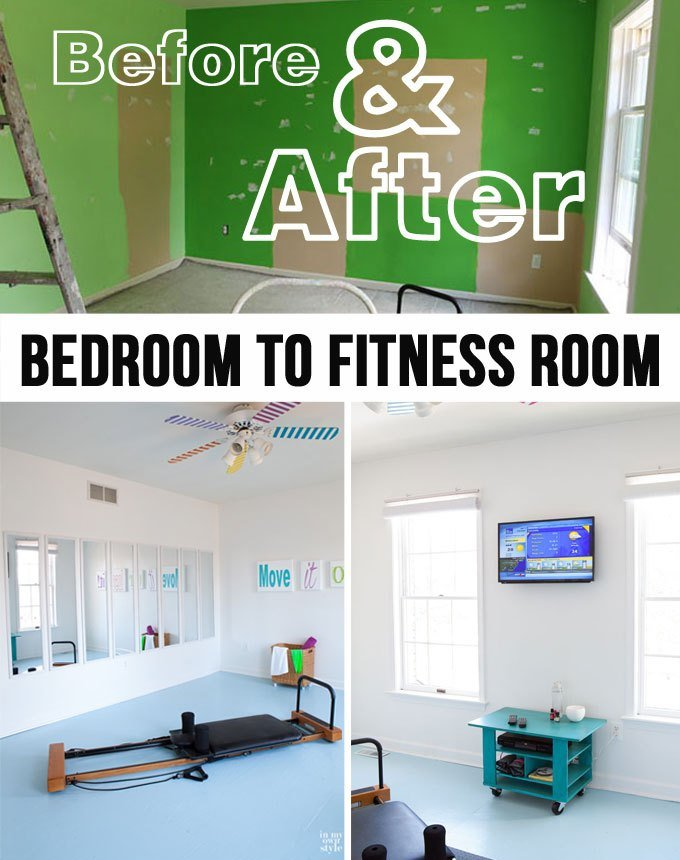Best Fitness Room Before After In My Own Style With Pictures