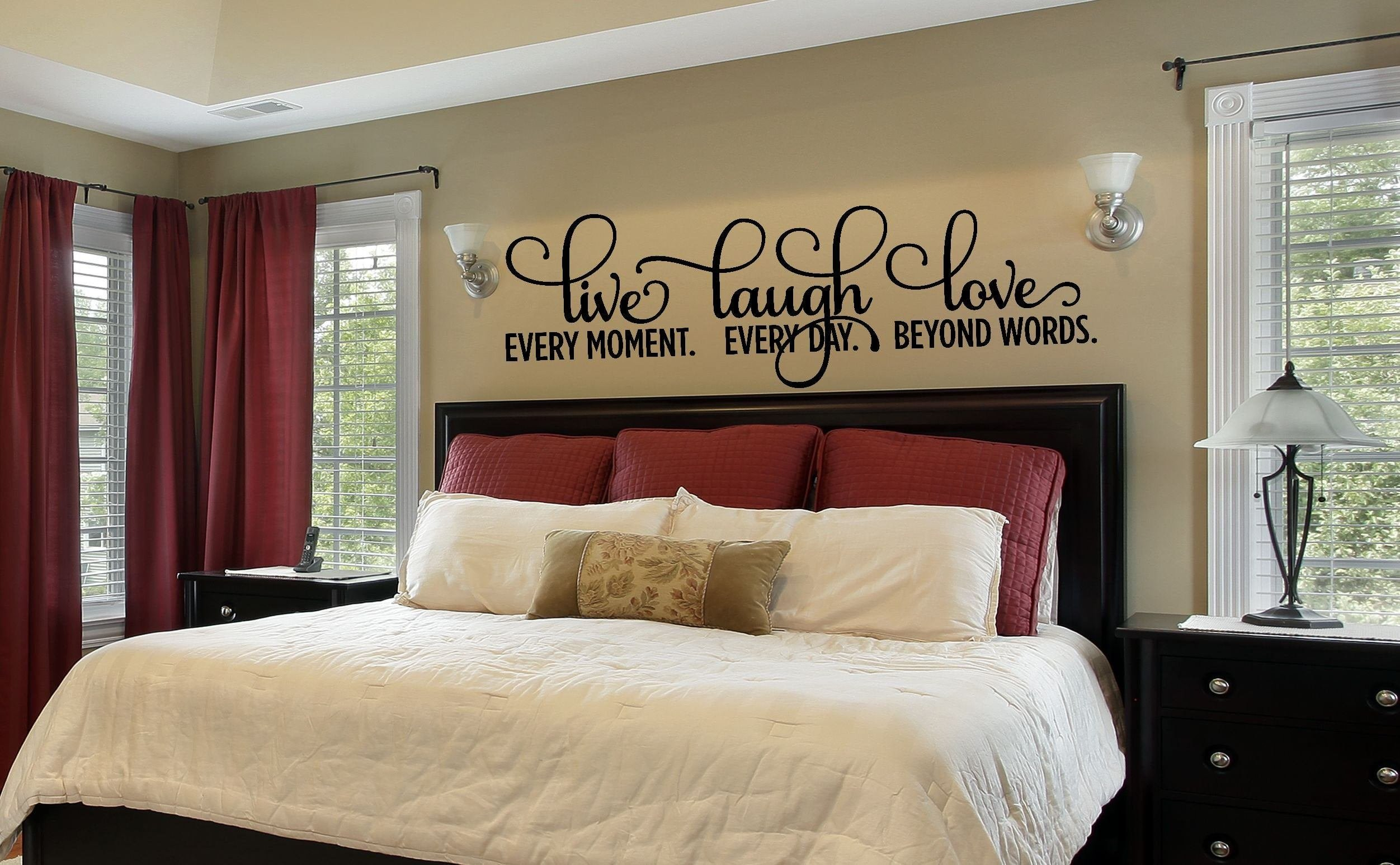 Best Bedroom Decor Bedroom Wall Decal Master Bedroom Wall Decal With Pictures