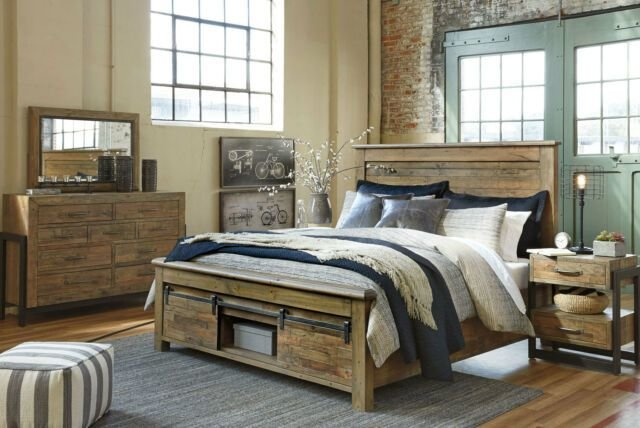 Best Buy Ashley Furniture B775 Sommerford Modern Queen King With Pictures