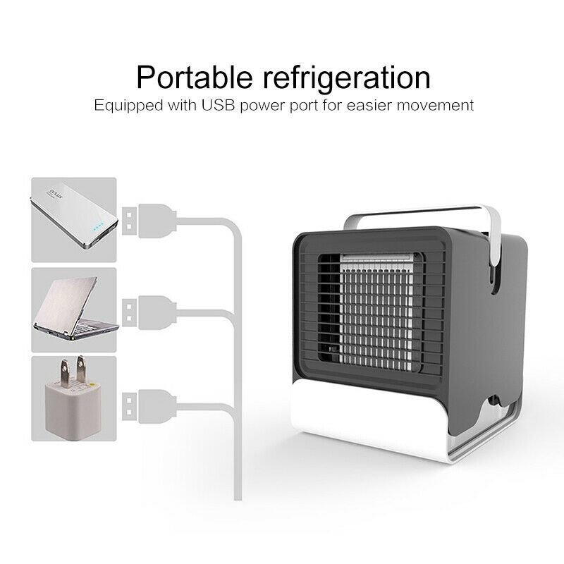 Best Portable Mini Air Conditioner Cool Cooling Fan For Bedroom With Pictures