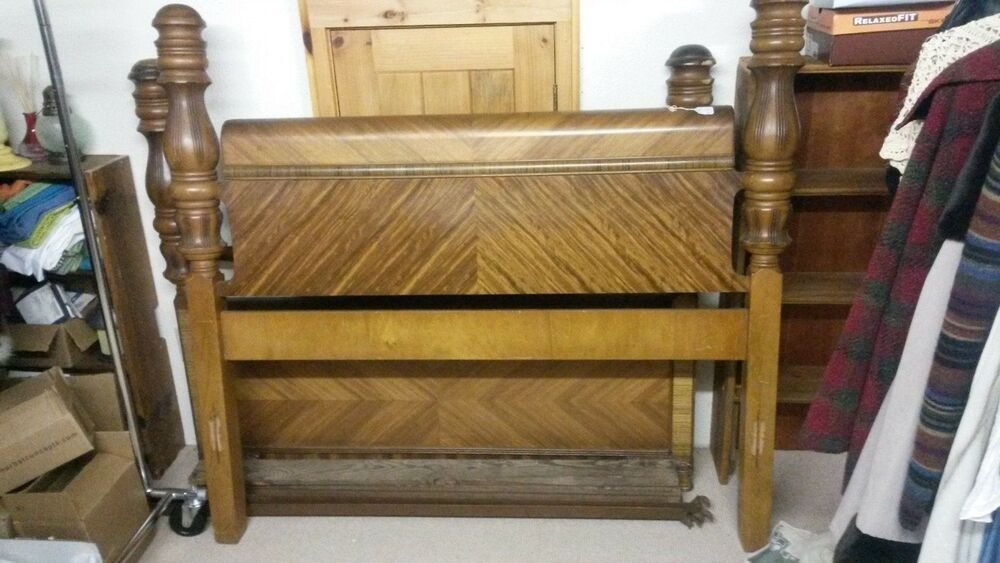 Best Vintage Art Deco Waterfall Bedroom Furniture Ebay With Pictures
