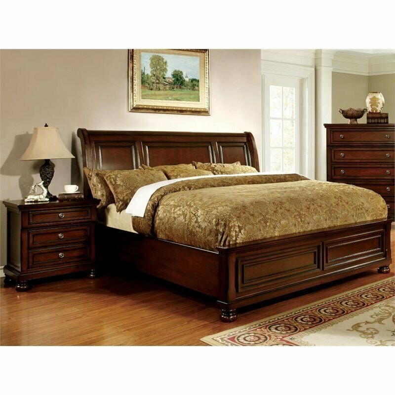 Best Furniture Of America Caiden 2 Piece King Bedroom Set In With Pictures