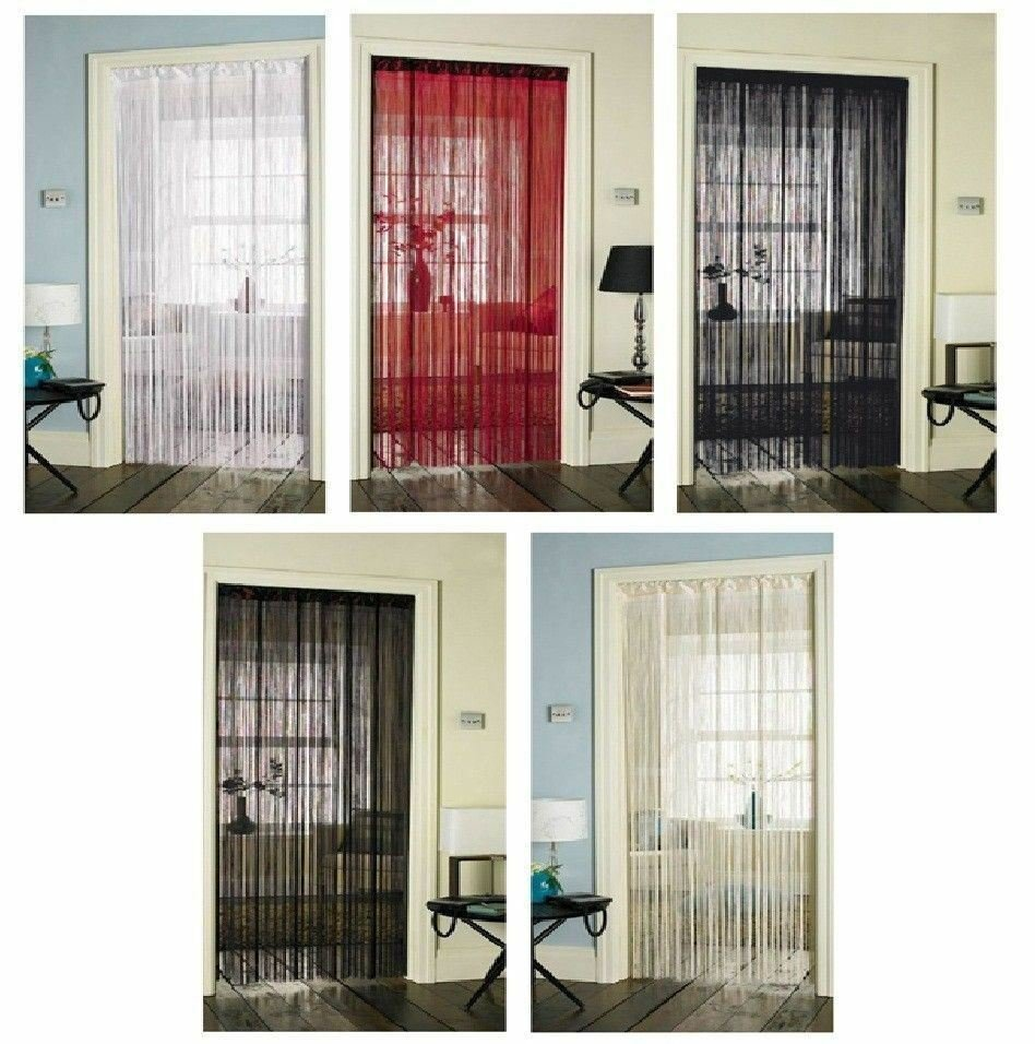 Best String Curtains For Doors Windows Dividers Fly Screen With Pictures