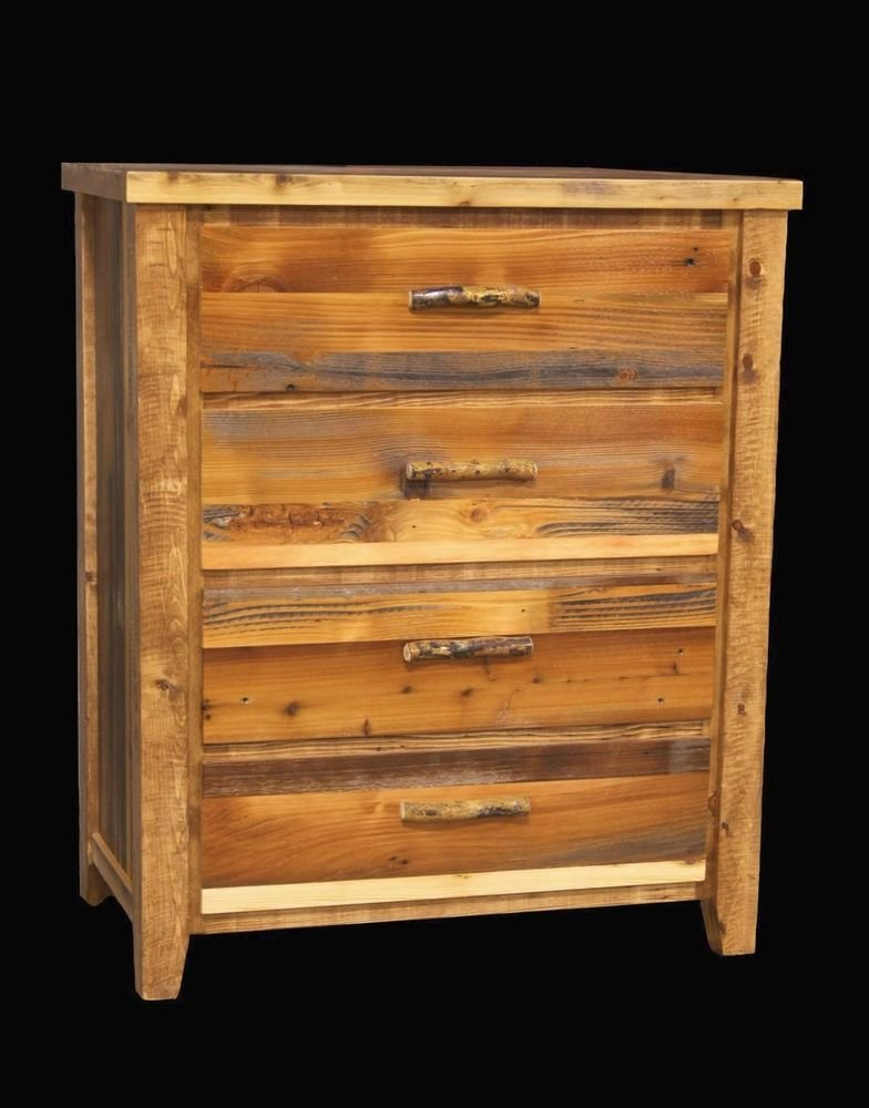 Best Western 4 Drawer Dresser Country Rustic Cabin Log Wood With Pictures