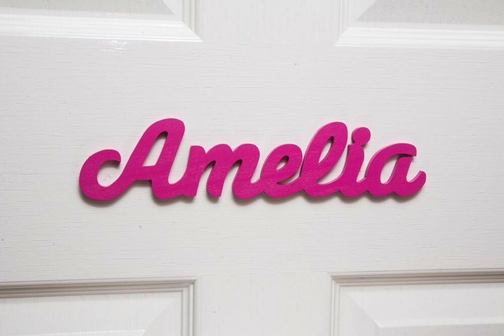 Best Personalised Names Wooden Name Plaques Door Sign With Pictures