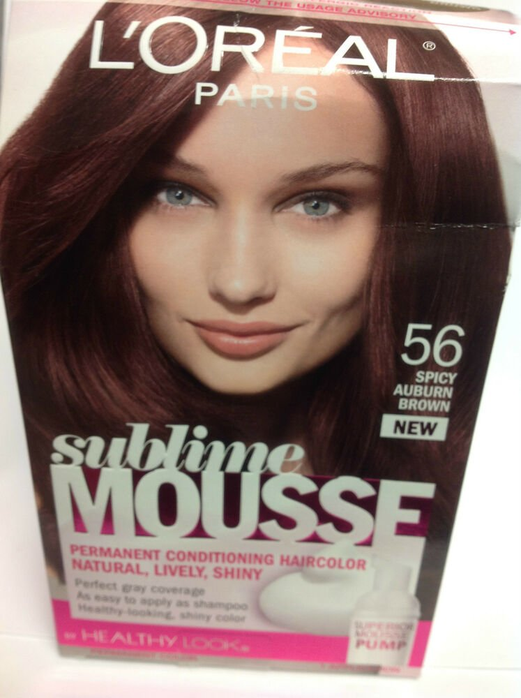 Free L Oreal Sublime Mousse By Healthy Look Hair Color Spicy Wallpaper