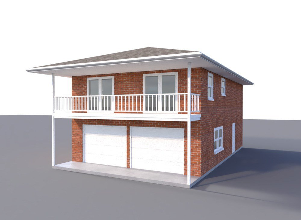 Best Two Car Garage Apartment Plans Diy 2 Bedroom Coach With Pictures