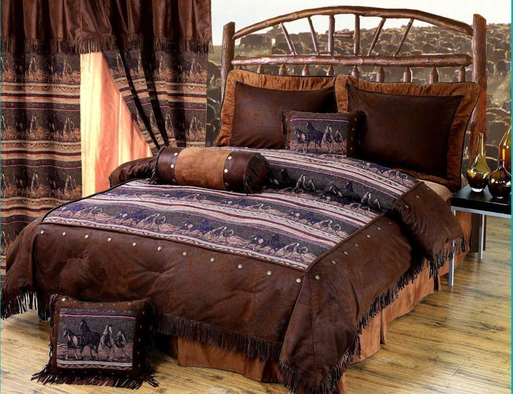 Best Mustang Western 5 Pc Twin Comforter Bedding Set With Pictures