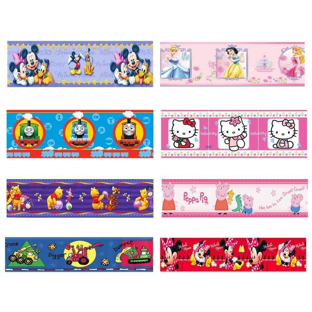 Best Character Generic Wallpaper Borders 5M Self Adhesive With Pictures