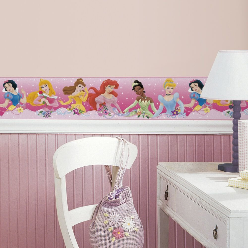 Best Disney Princess Wallpaper Border Girls Princesses Pink With Pictures