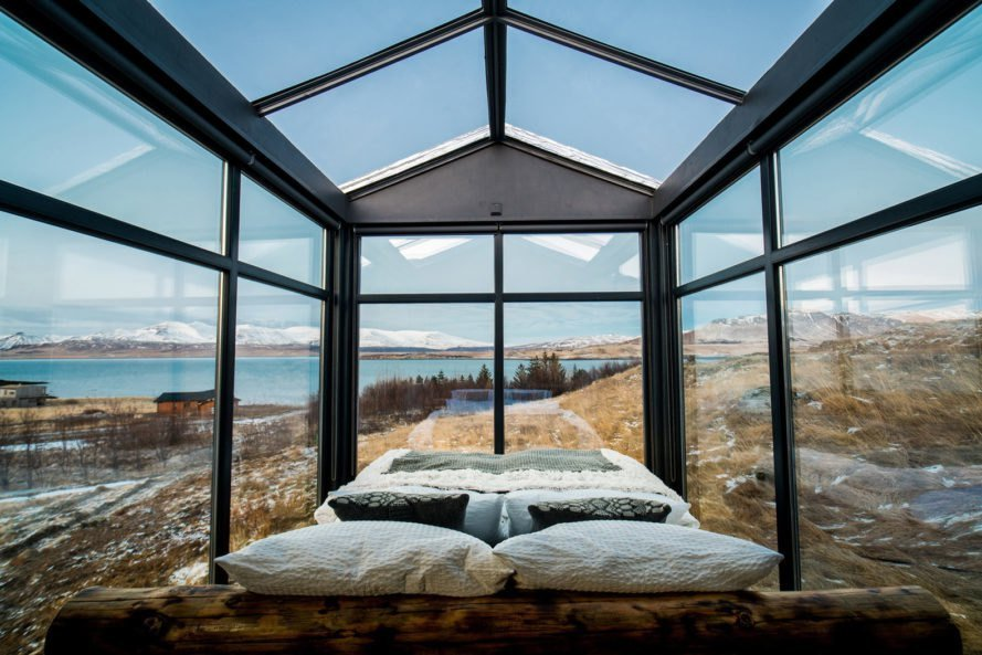 Best This Glass Cabin In Iceland Lets You Watch The Northern Lights From Your Bed With Pictures