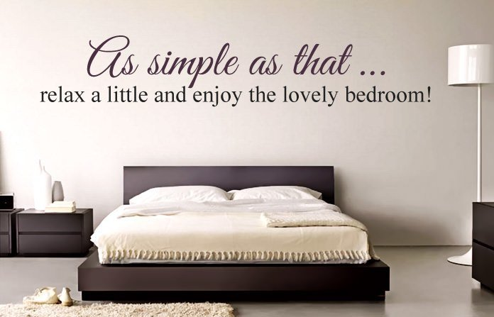 Best Inspirational Bedroom Quotes And Sayings To Hang On Your Wall With Pictures