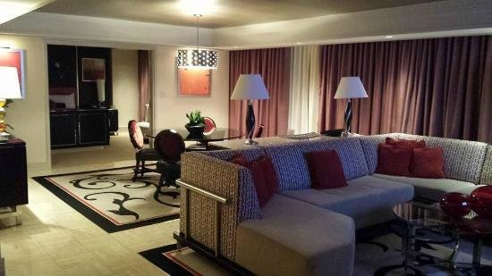 Best Living Area Of One Bedroom Tower Suite Picture Of The Mirage Hotel Casino Las Vegas With Pictures