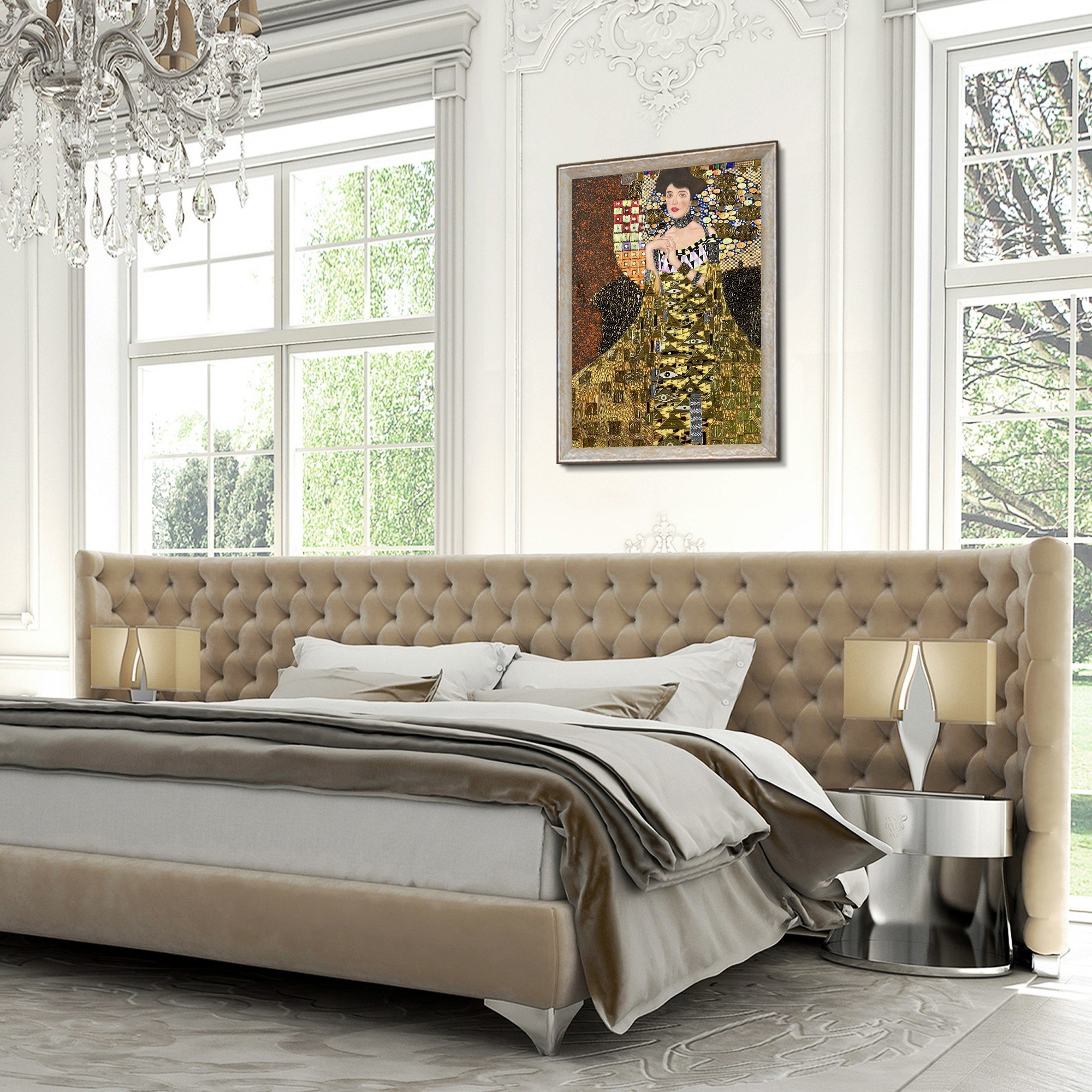 Best Bedroom Reproduction Oil Paintings Canvas Art With Pictures
