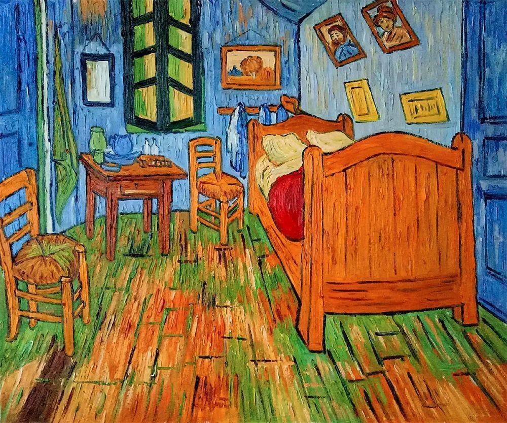 Best Bedroom In Arles By Vincent Van Gogh Www Indiepedia Org With Pictures