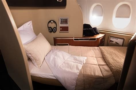 Best Qantas New Airbus A380 First Class Sleep Service Photos With Pictures