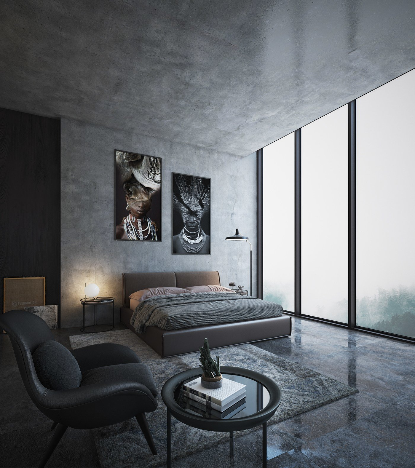 Best Free 3D Interior Scene On Behance With Pictures
