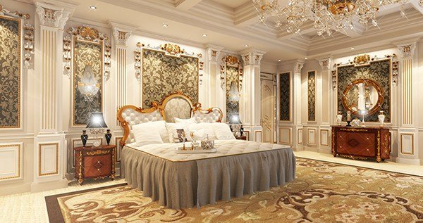 Best Royal Master Bedroom Private Palace On Behance With Pictures