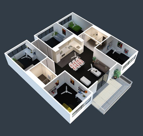 Best 5 Bedroom Apartments Online Information With Pictures