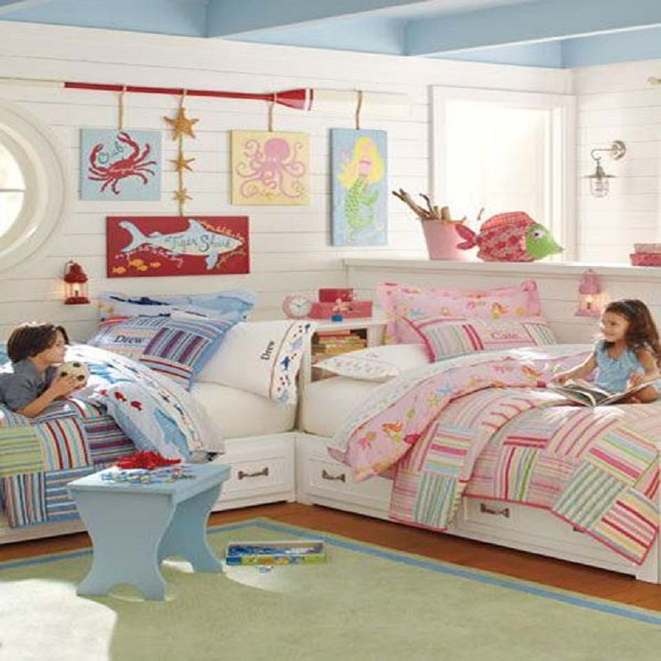 Best Great Ideas For Shared Kids Bedrooms With Pictures